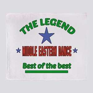 The Legend Middle Eastern dance Best Throw Blanket
