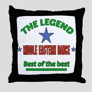 The Legend Middle Eastern dance Best Throw Pillow