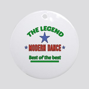 The Legend Modern dance Best of the Round Ornament
