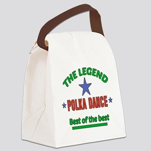 The Legend Polka dance Best of th Canvas Lunch Bag