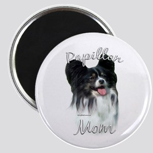 Papillon Mom2 Magnet