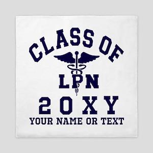 Class of 20?? Nursing (LPN) Queen Duvet