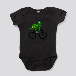 Turtle Riding Bicycle Body Suit