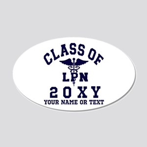 Class of 20?? Nursing (LPN) Wall Decal