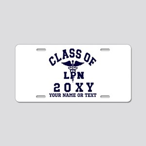Class of 20?? Nursing (LPN) Aluminum License Plate