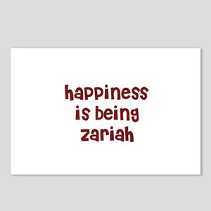 happiness is being Zariah Postcards (Package of 8)
