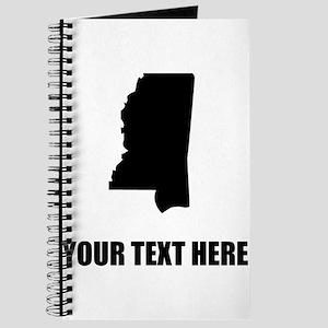 Custom Mississippi Silhouette Journal
