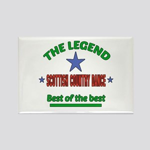 The Legend Scottish Country dance Rectangle Magnet