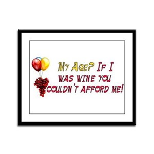 Fine Wine Framed Panel Print
