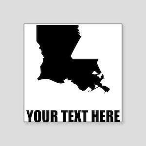Custom Louisiana Silhouette Sticker