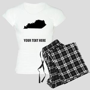 Custom Kentucky Silhouette Pajamas