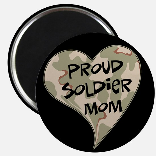 Proud soldier mom Magnet