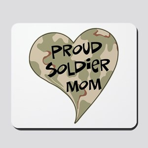 Proud soldier mom Mousepad