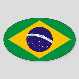 Brasil Flag Sticker