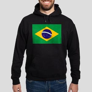 Brasil Flag Hoodie (dark)