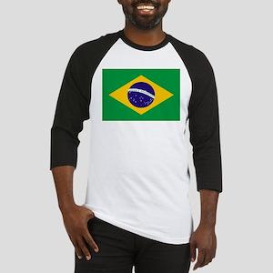 Brasil Flag Baseball Jersey