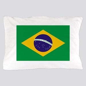 Brasil Flag Pillow Case