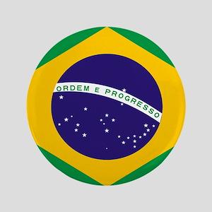 Brasil Flag Button