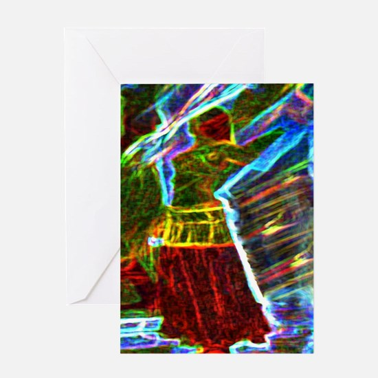 Funny Aura Greeting Card