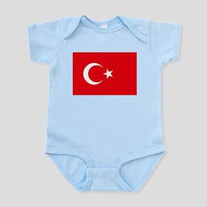 Turkey Flag Body Suit