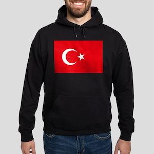 Turkey Flag Hoodie (dark)