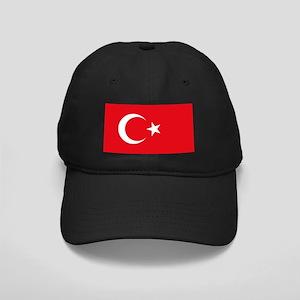 Turkey Flag Black Cap