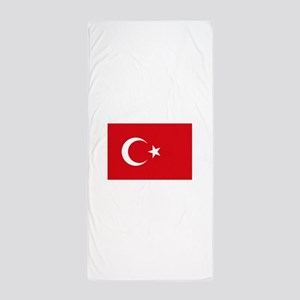 Turkey Flag Beach Towel