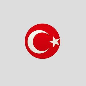 Turkey Flag Mini Button
