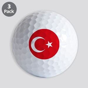 Turkey Flag Golf Balls