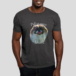 Pekingese Mom2 Dark T-Shirt