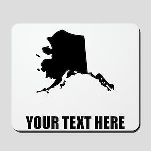 Custom Alaska Silhouette Mousepad