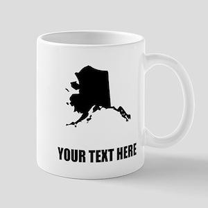 Custom Alaska Silhouette Mugs