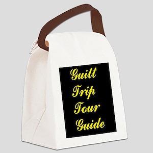 Guilt Trip Tour Guide Canvas Lunch Bag