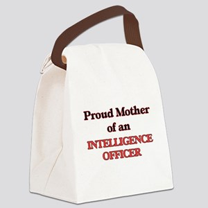 Proud Mother of a Intelligence Of Canvas Lunch Bag