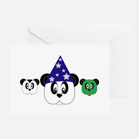 Panda Halloween Greeting Card