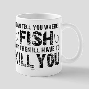 Secret Fishing Spot Mugs