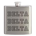 Delta Delta Delta Flask