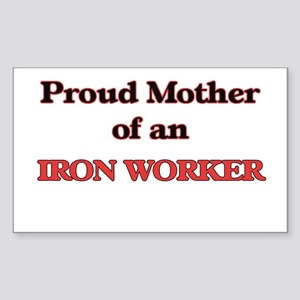 Proud Mother of a Iron Worker Sticker