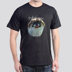 Pekingese Dad2 Dark T-Shirt