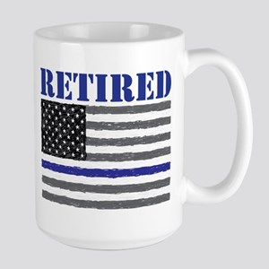 Thin Blue Line Retired Mugs