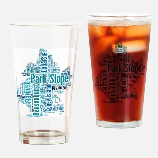 Unique Carroll Drinking Glass