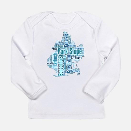 Brooklyn Neighborhoods 2 Long Sleeve Infant T-Shir