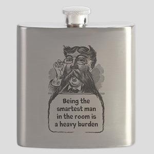 Smartest Man Flask