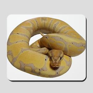 banana ball python Mousepad