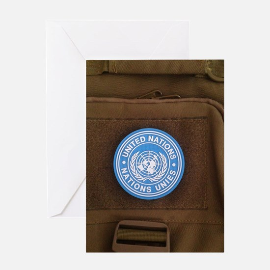 Cool United nations Greeting Card