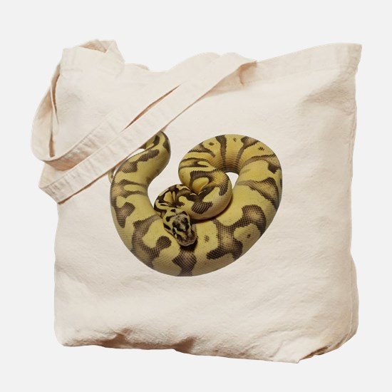 Enchi Fire ball python Tote Bag