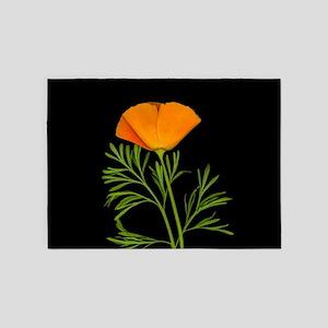 Golden Poppy 5'x7'Area Rug