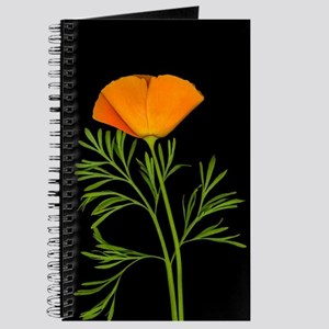 Golden Poppy Journal