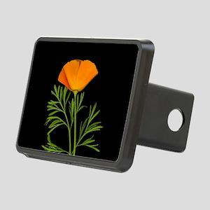 Golden Poppy Rectangular Hitch Cover
