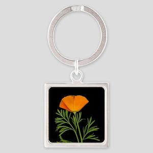 Golden Poppy Keychains